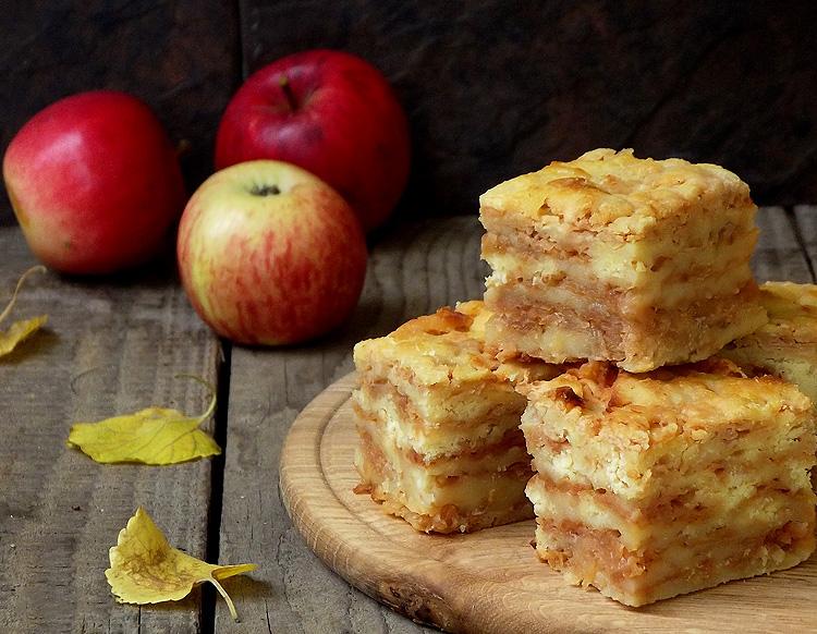 Насипний яблучний пирiг без глютену